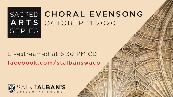 2020 10 11 Choral Evensong 16.9 Poster