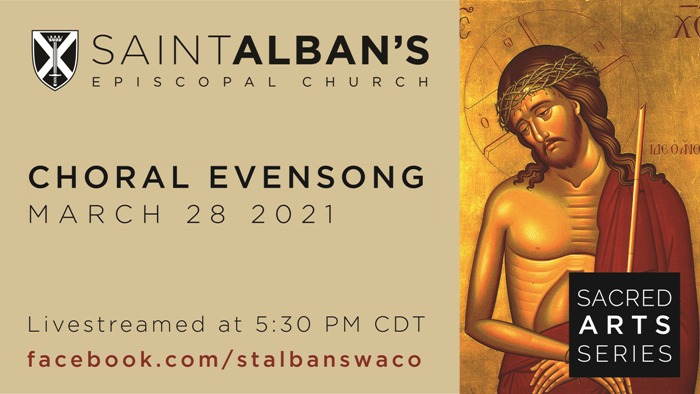 2021 03 28 Choral Evensong 16.9 Poster